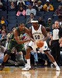 Mar 19  2014  Utah Jazz vs Memphis Grizzlies - Zach Randolph  Derrick Favors