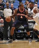Jan 22  2014  Atlanta Hawks vs Orlando Magic - Paul Millsap