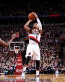 Apr 6  2014  New Orleans Pelicans vs Portland Trail Blazers - Damian Lillard