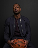 NBA All-Star Portraits 2014: Feb 14 - Dwayne Wade