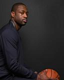 NBA All-Star Portraits 2014: Feb 14 - Dwayne Wade