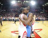 Apr 4  2014  Oklahoma City Thunder vs Houston Rockets - James Harden  Serge Ibaka