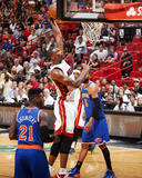 Apr 6  2014  New York Knicks vs Miami Heat - Chris Bosh