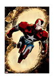 Secret Avengers 3 Cover: Iron Patriot