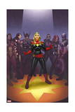 Avengers: the Enemy Within 1 Cover: Captain Marvel  Thor  Iron Man  Hawkeye  Black Widow