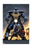 Uncanny Avengers 6 Cover: Apocalypse  Thor