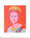 Reigning Queens: Queen Elizabeth II of the United Kingdom, 1985 Reproduction d'art par Andy Warhol