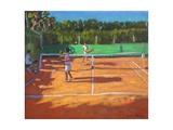 Tennis Practise   Cap d'Adge  France  2013