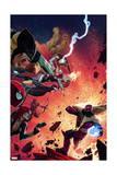 What If Avx 4 Cover: Wolverine  Iron Man  Thor  Hulk  Cyclops  Black Widow  Hawkeye  Magneto