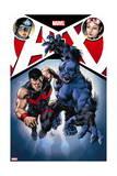 A+X 12 Cover: Captain America  Jubilee  Wonder Man  Beast