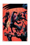 Superior Spider-Man Team-Up 1 Cover: Spider-Man  Thor  Iron Man  Hulk  Black Widow  Hawkeye