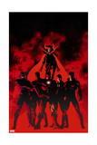 New Avengers 10 Cover: Black Bolt  Black Panther  Dr Strange  Iron Man  Mr Fantastic  Namor