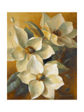 Magnolias Aglow at Sunset II Giclée premium par Lanie Loreth