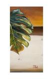 The Green Leaf II Reproduction d'art par Patricia Quintero-Pinto