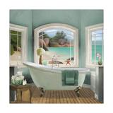 Oceanview II Giclée premium par Elizabeth Medley
