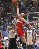 Apr 11  2014  Washington Wizards vs Orlando Magic - Marcin Gortat