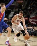 Apr 9  2014  Detroit Pistons vs Cleveland Cavaliers - Spencer Hawes