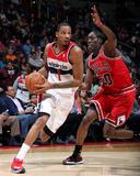 Apr 5  2014  Chicago Bulls vs Washington Wizards - Trevor Ariza  Tony Snell