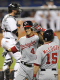 Apr 16  2014  Washington Nationals vs Miami Marlins - Zach Walters  Nate McLouth