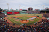 Apr 4  2014: Boston  MA - Milwaukee Brewers vs Boston Red Sox - Fenway Park