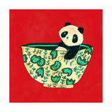Dinnerware Sets - Panda in China Bowl