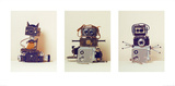 Camera Robots Triptych