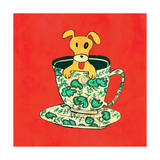 Dinnerware Sets - Puppy in China Teacup