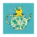 Dinnerware Sets - Kitten in China Teapot