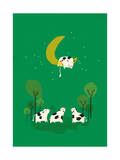 A Cow Jump over the Moon