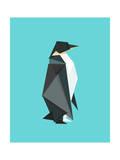 Fractal Geometric Emperor Penguin
