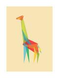 Fractal Geometric Giraffe
