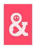 Peace and Love Pink