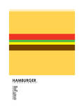 Pantone Food Cheeseburger