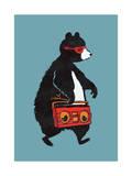 Boombox Bear Blue