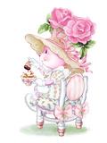 Rose Bonnet Tea Bunny