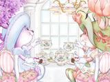 Tea Bunnies Pinkies Up Tea