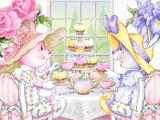 Tea Bunnies Cupcake Tea