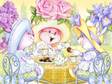Tea Bunnies Golden Teatime