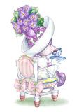 Candy Violet Tea Bunny