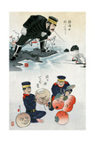 Japanese Cartoon  C 1895