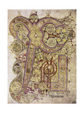 Book of Kells: Christ Page