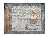 Continental Currency  1779