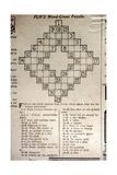 Crossword Puzzle  1913