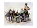 Poker Game  1840s
