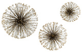 Dandelion Metal Wall Decor Set