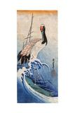 Hiroshige: Crane  C 1834