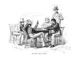 Georgia: Poker Game  1840s