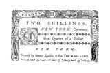 New York Banknote  1776