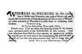 Emancipation Notice  1775