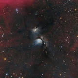 Messier 78  a Reflection Nebula in the Constellation Orion